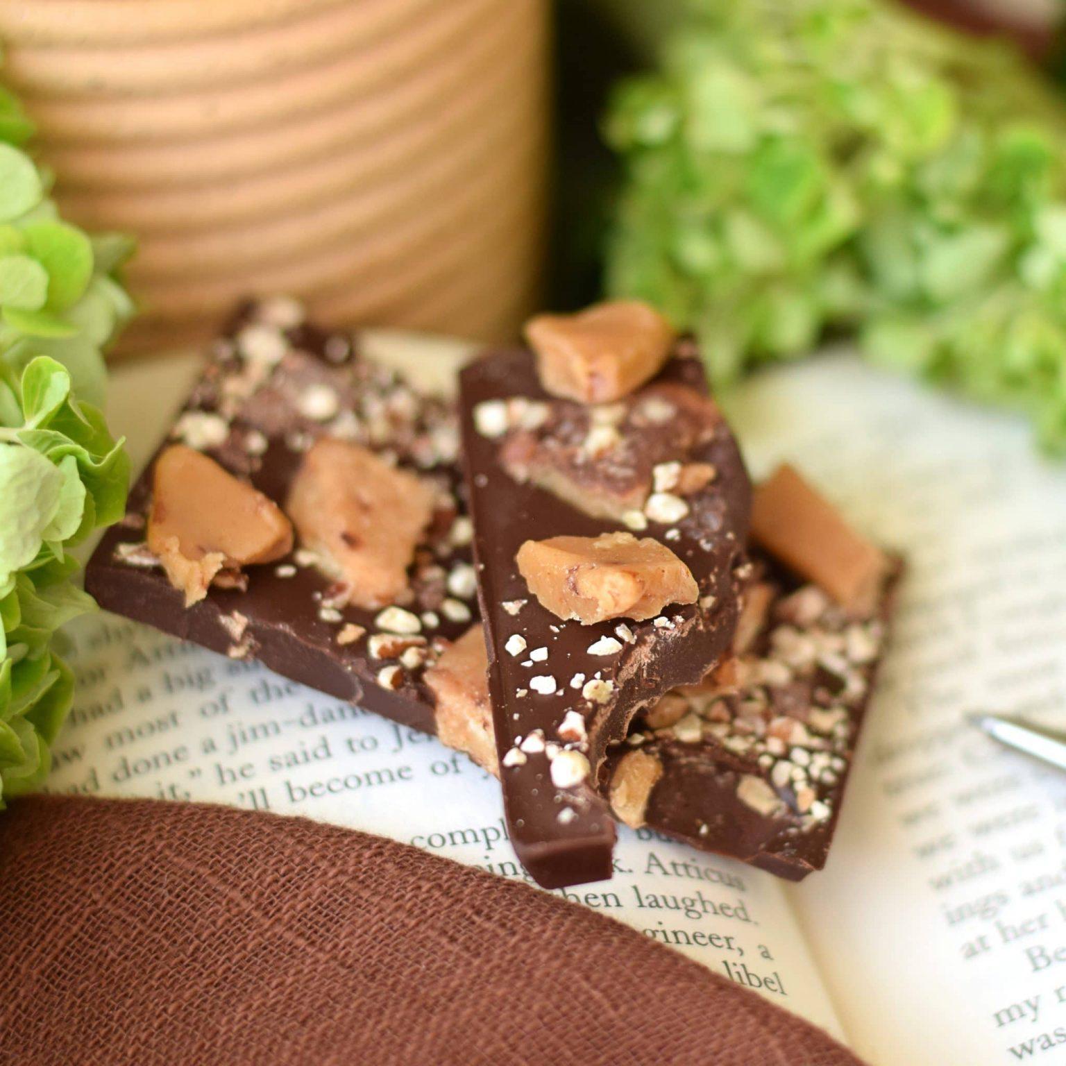 Dark Chocolate Toffee