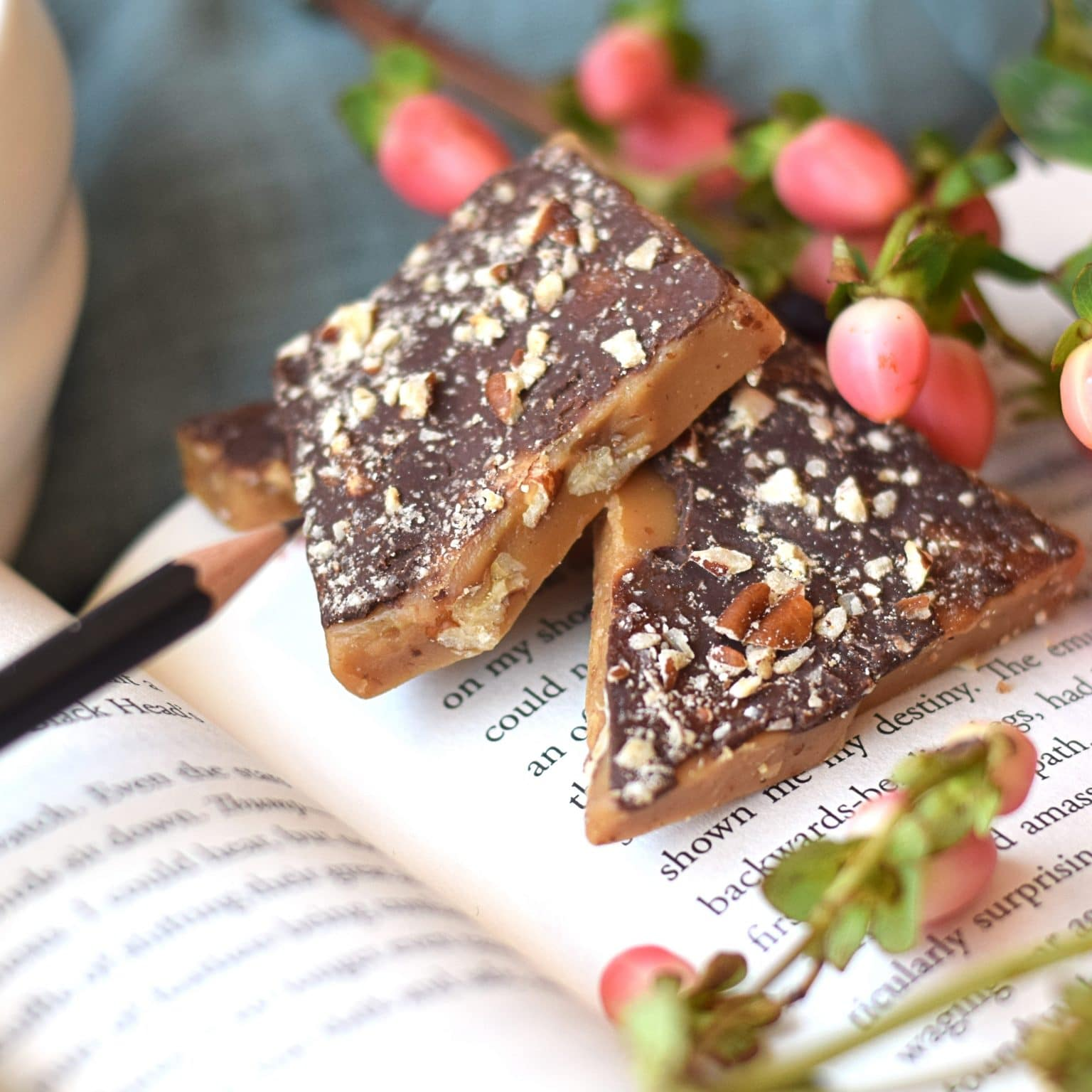English Toffee with Pecans