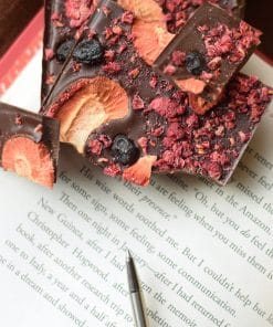 Dark Chocolate Berry bar