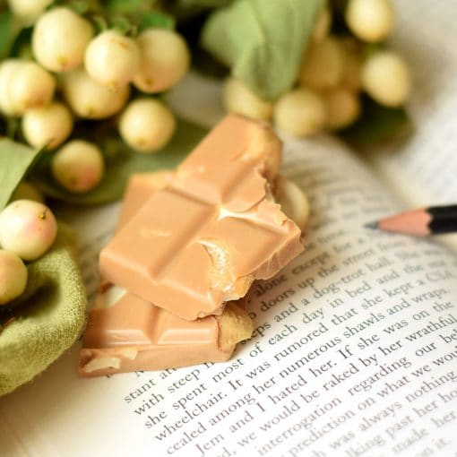 Caramelized White Chocolate with Cashews