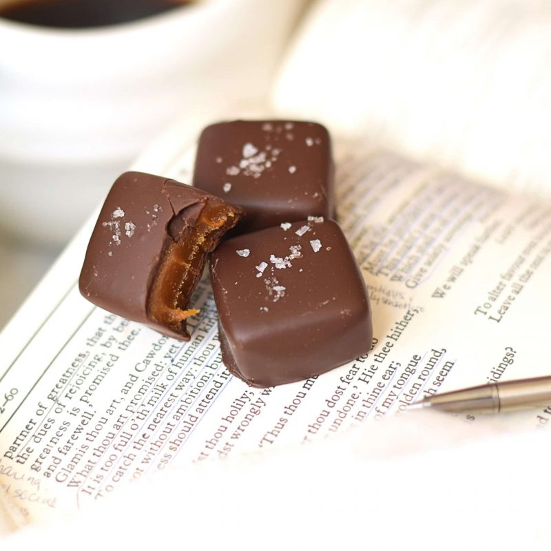 Sea Salt Caramel Dark Chocolate